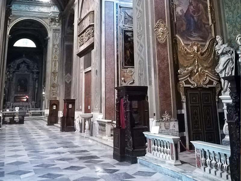 Cattedrale di Savona - Navata destra