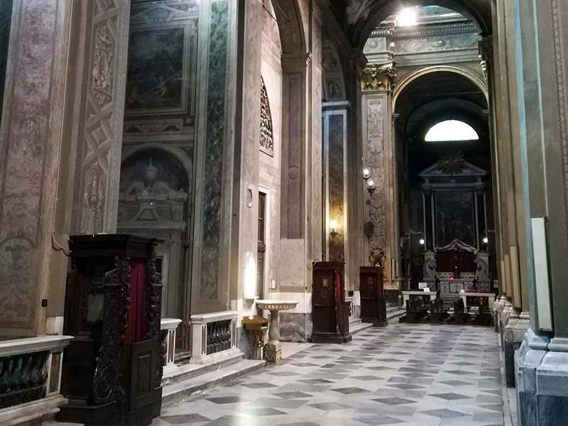 Cattedrale di Savona - Navata sinistra